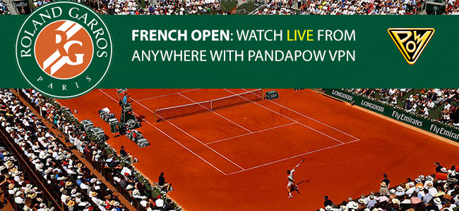 Tennis: Watch the French Open with PandaPow VPN