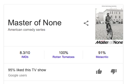 Watch Master of None VPN