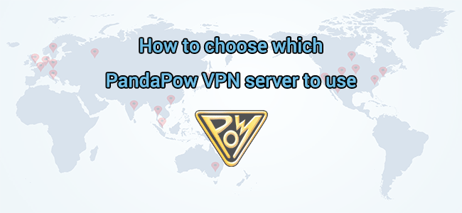 How to choose which VPN server to use